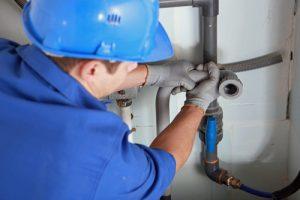 plumber repairing